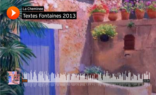Image textes fontaines